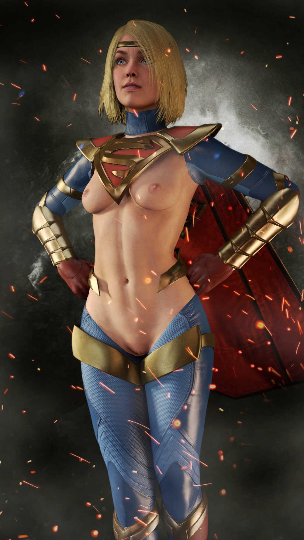 Supergirl naked Supergirl