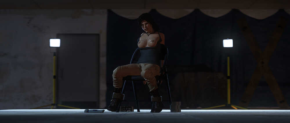 Lara croft bdsm